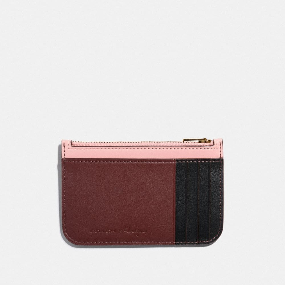 Coach Selena Zip Card Case in Colorblock Alternate View 1