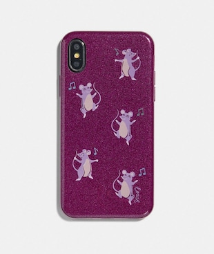 IPHONE X/XS CASE WITH PARTY MOUSE PRINT