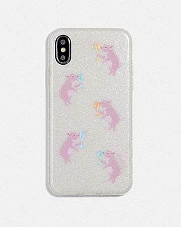 IPHONE X/XS CASE WITH PARTY PIG PRINT