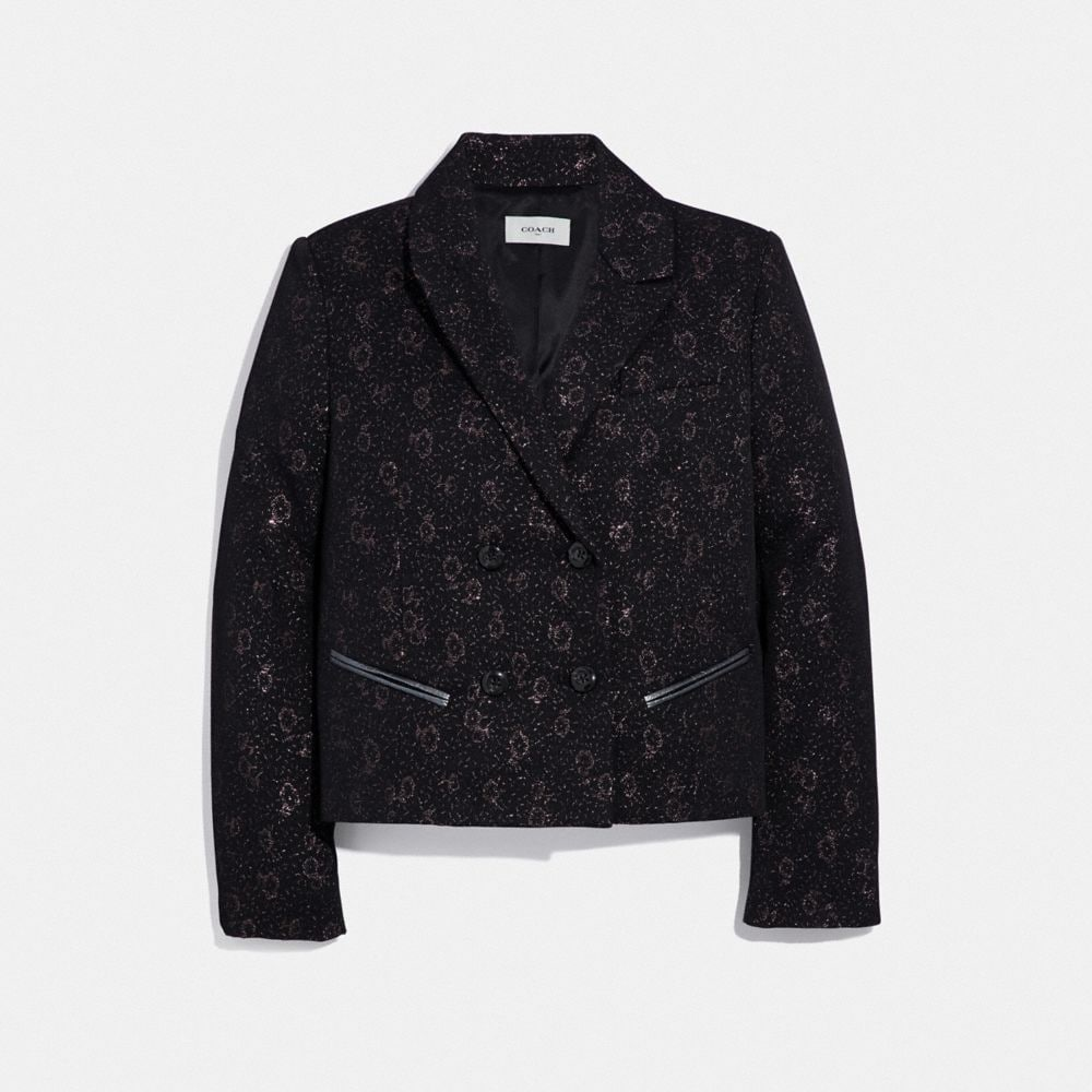 Coach Tailored Jacquard Jacket