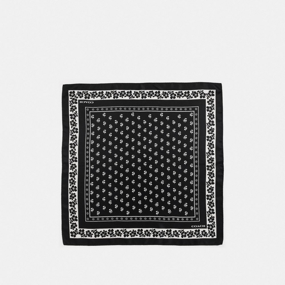 LILY OF THE VALLEY SILK BANDANA