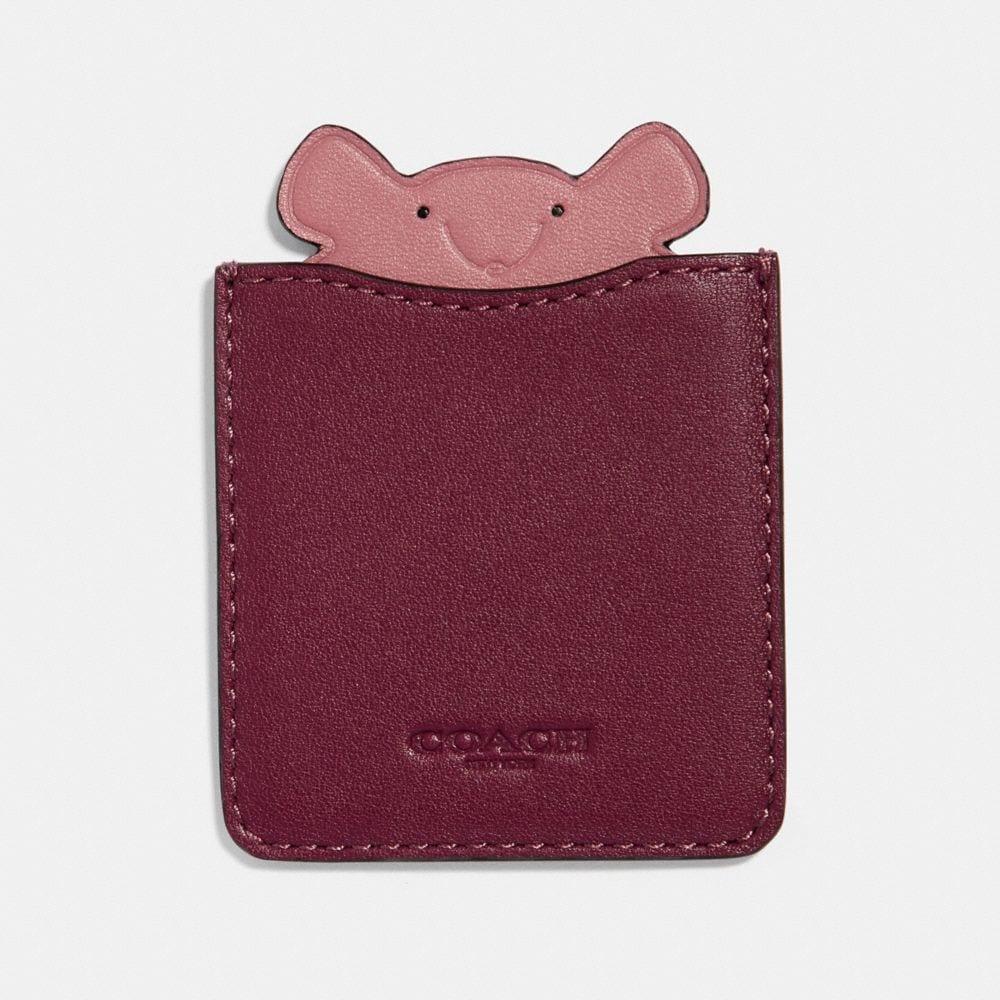 mouse phone pocket sticker