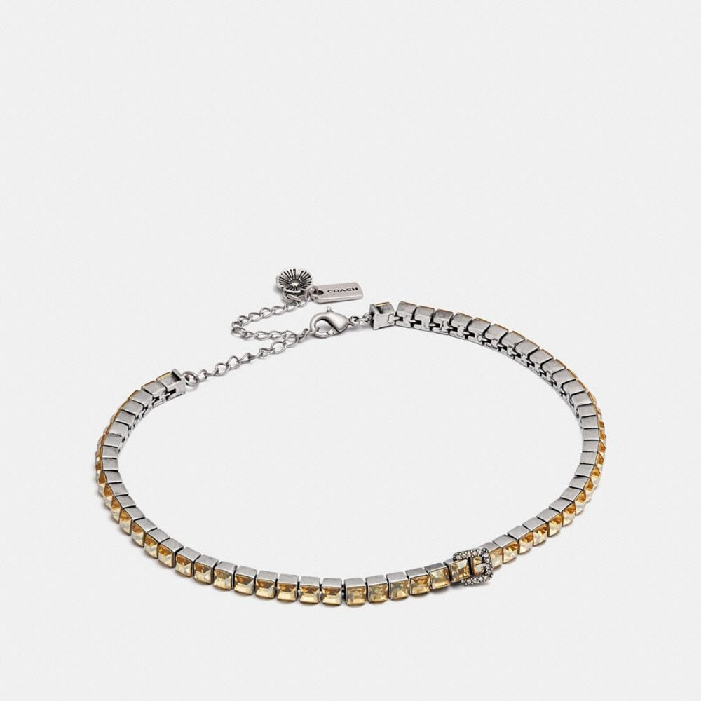 TENNIS BUCKLE CHOKER