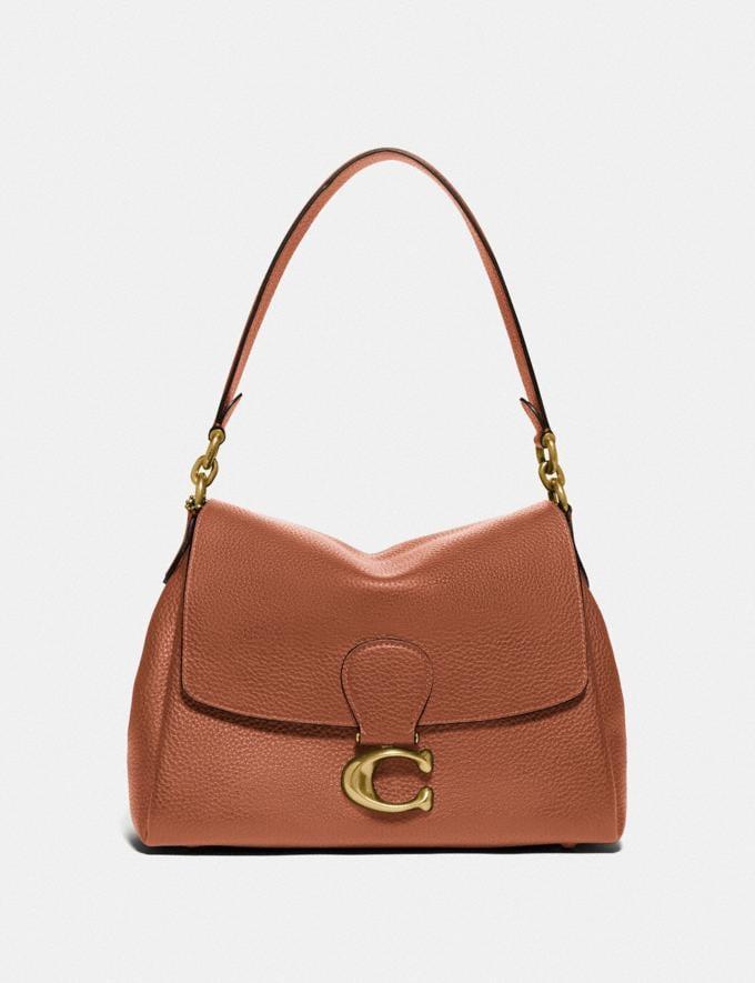 Coach May Shoulder Bag B4/1941 Saddle null