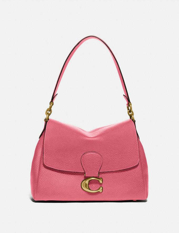 Coach May Shoulder Bag Brass/Rouge null