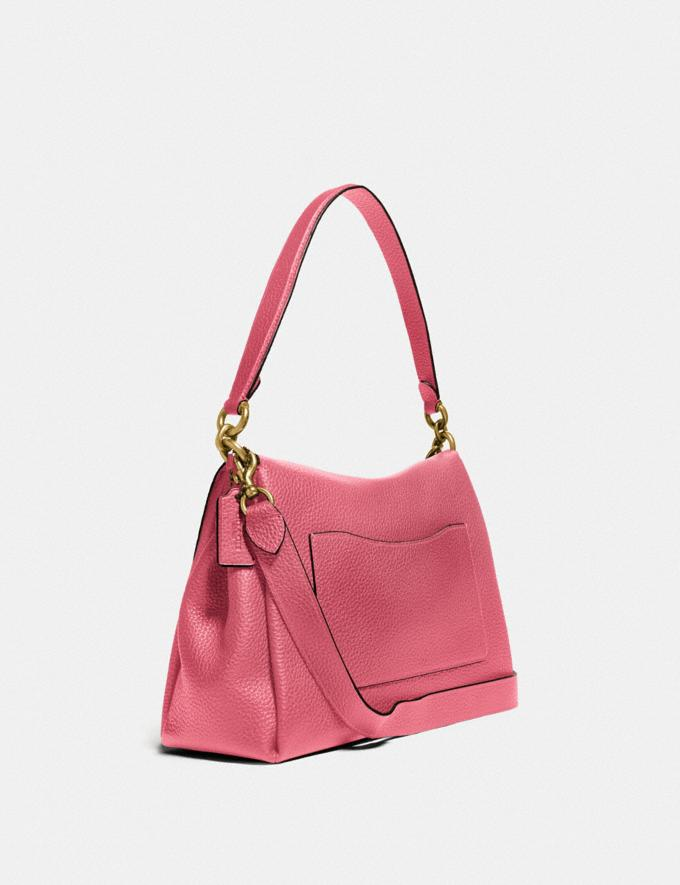 Coach May Shoulder Bag Brass/Rouge null Alternate View 1