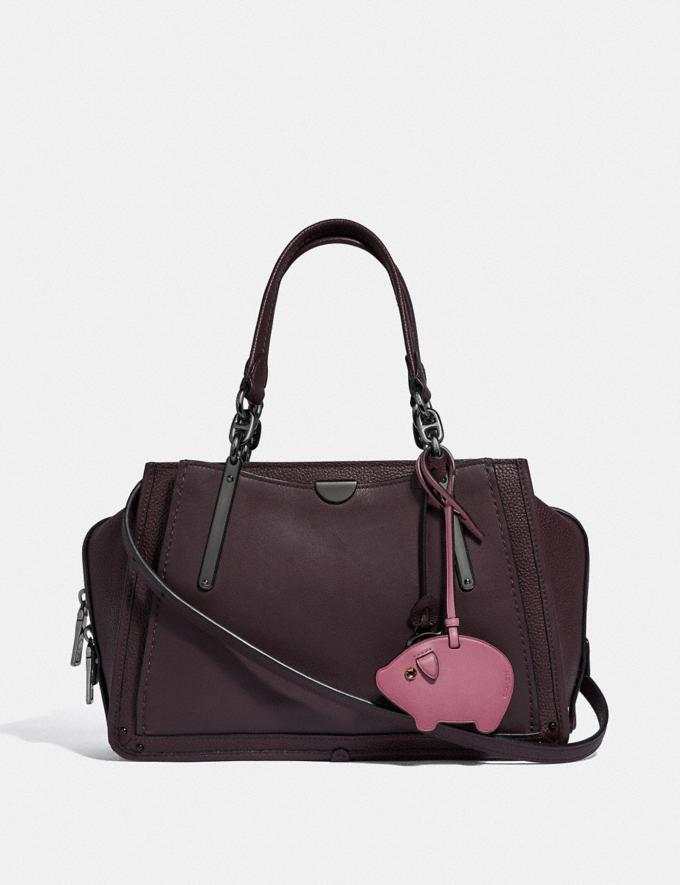 Coach Pig Ornament Rose New Featured Online Exclusives Alternate View 1