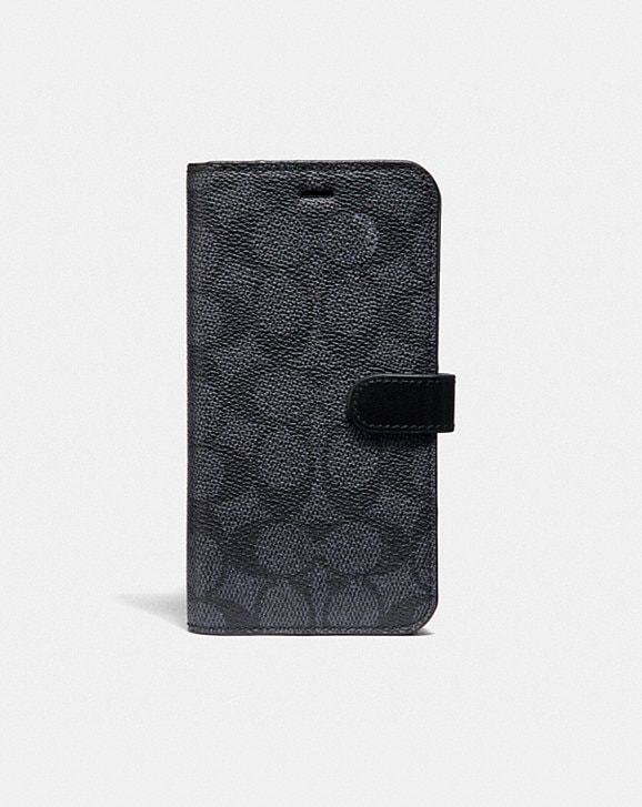 Coach IPHONE 7 PLUS/8 PLUS FOLIO IN SIGNATURE LEATHER