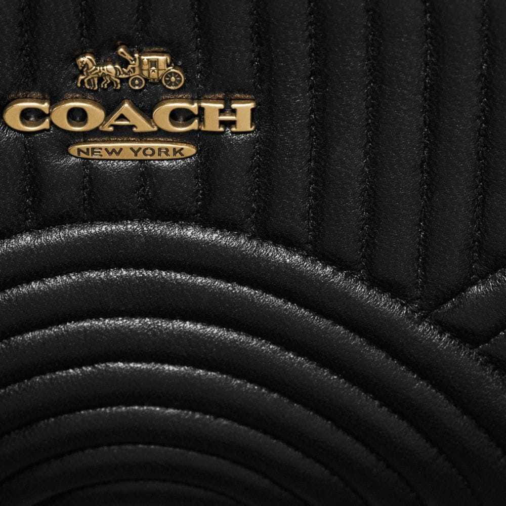 Coach Belt Bag With Deco Quilting Alternate View 5