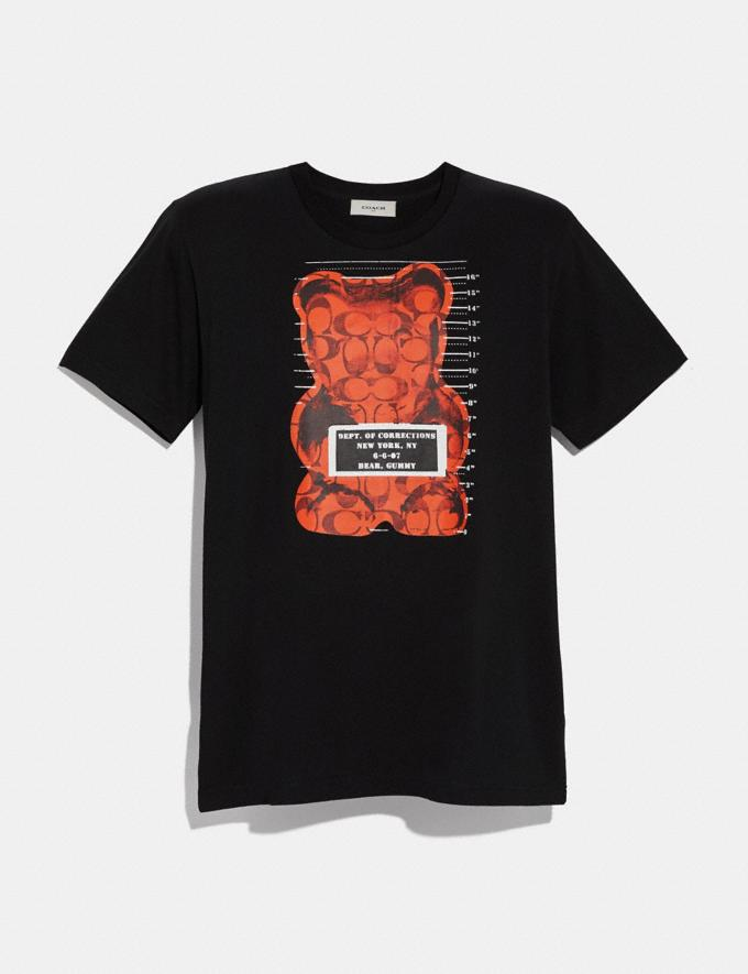 Coach Vandal Gummy Coach Edition T-Shirt Black SALE Men's Sale Ready-to-Wear