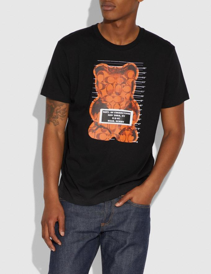 Coach Vandal Gummy Coach Edition T-Shirt Black SALE Men's Sale Ready-to-Wear Alternate View 1