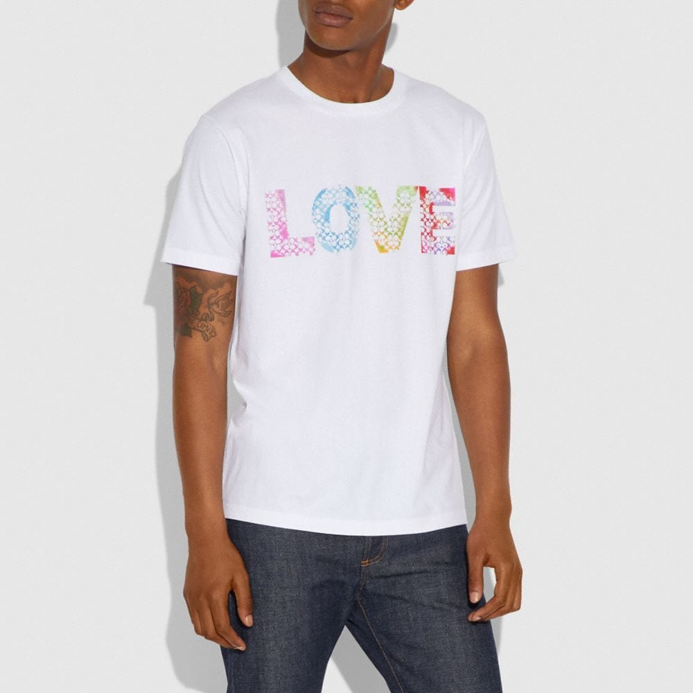 Coach Love by Jason Naylor T-Shirt Alternate View 1