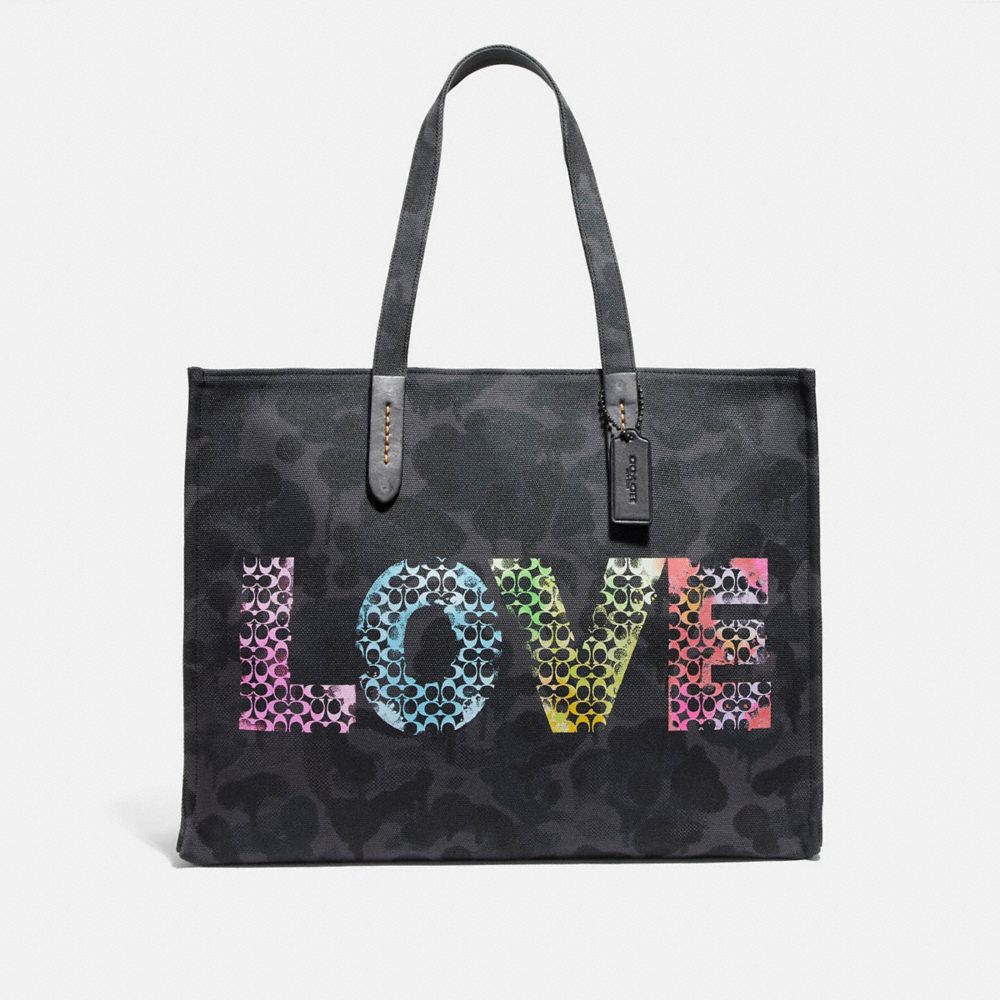 Coach Love by Jason Naylor Tote 42