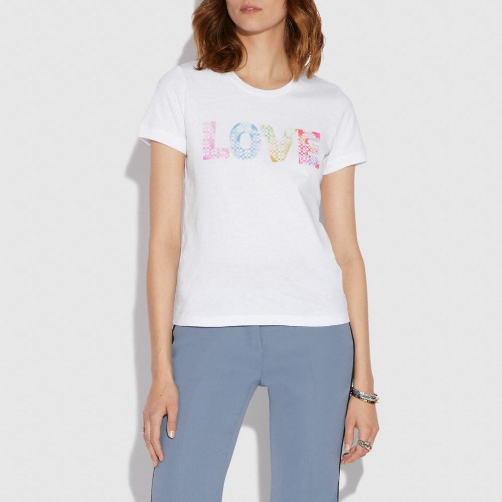 LOVE BY JASON NAYLOR T-SHIRT