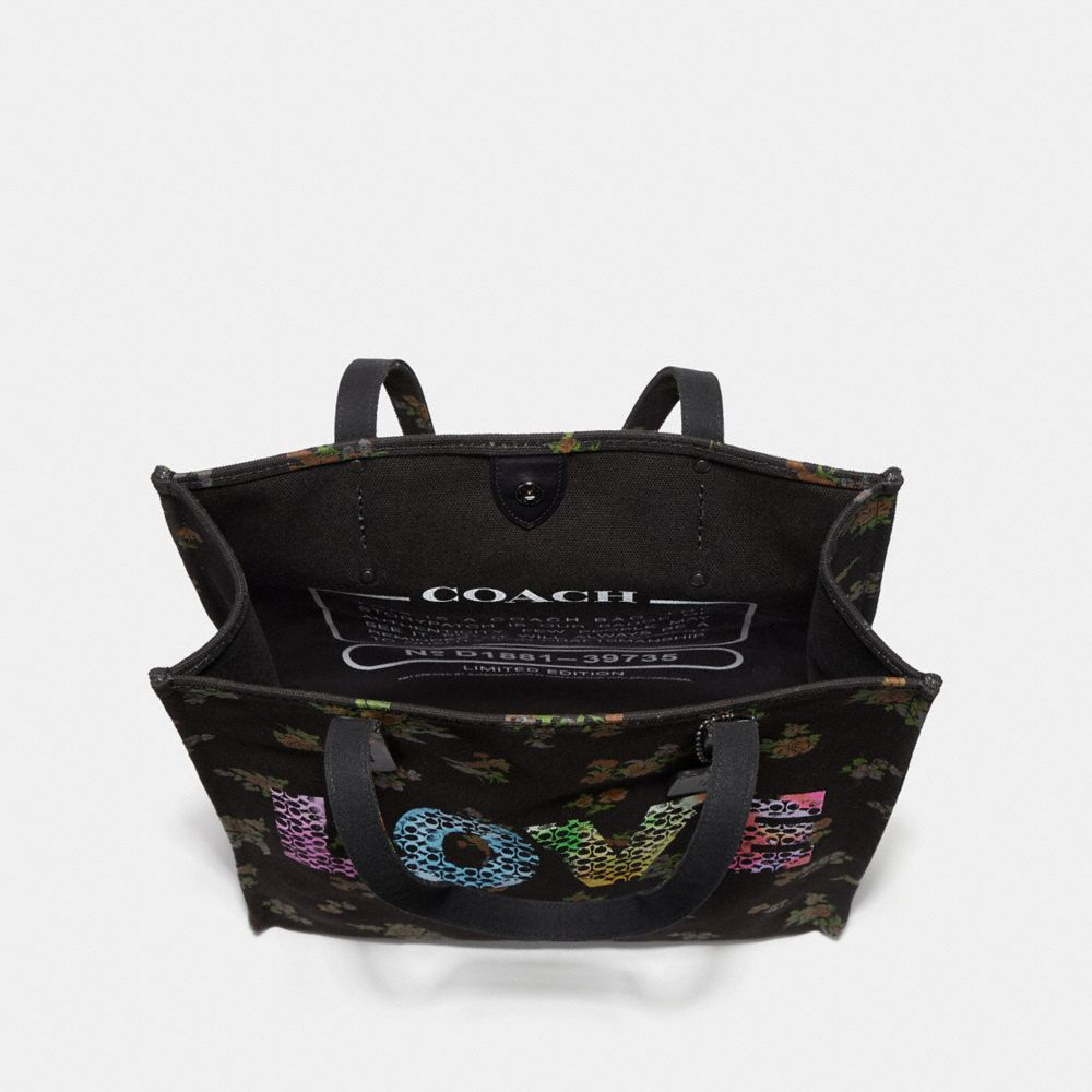 Coach Love by Jason Naylor Tote Alternate View 2