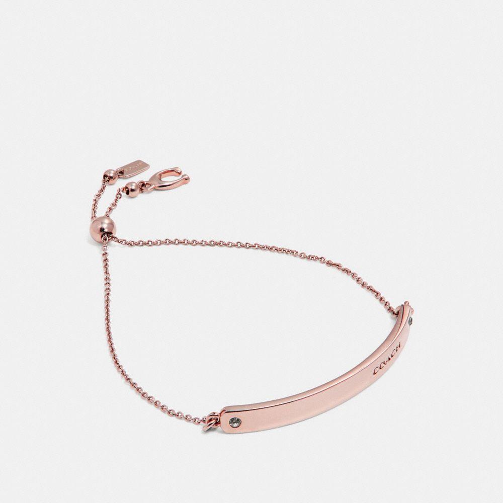 Coach Bar Slider Bracelet