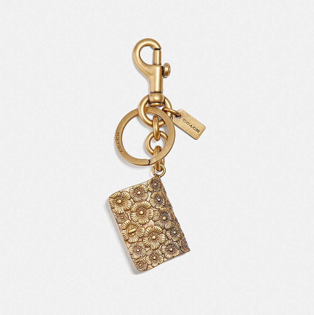 Dinky Mirror Bag Charm by Coach