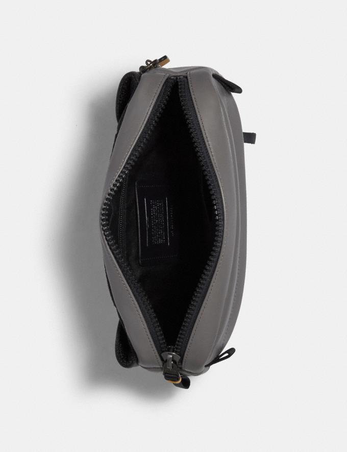 Coach Edge Belt Bag With Camo Print Qb/Black Multi  Alternate View 1