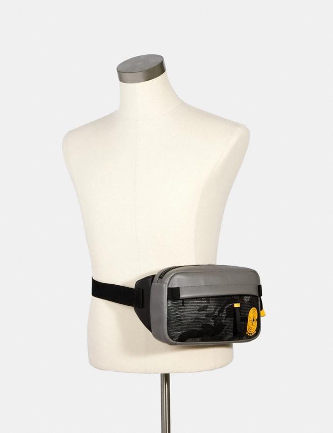 Coach Edge Belt Bag With Camo Print Qb/Black Multi Deals Finds Under $100 Alternate View 2