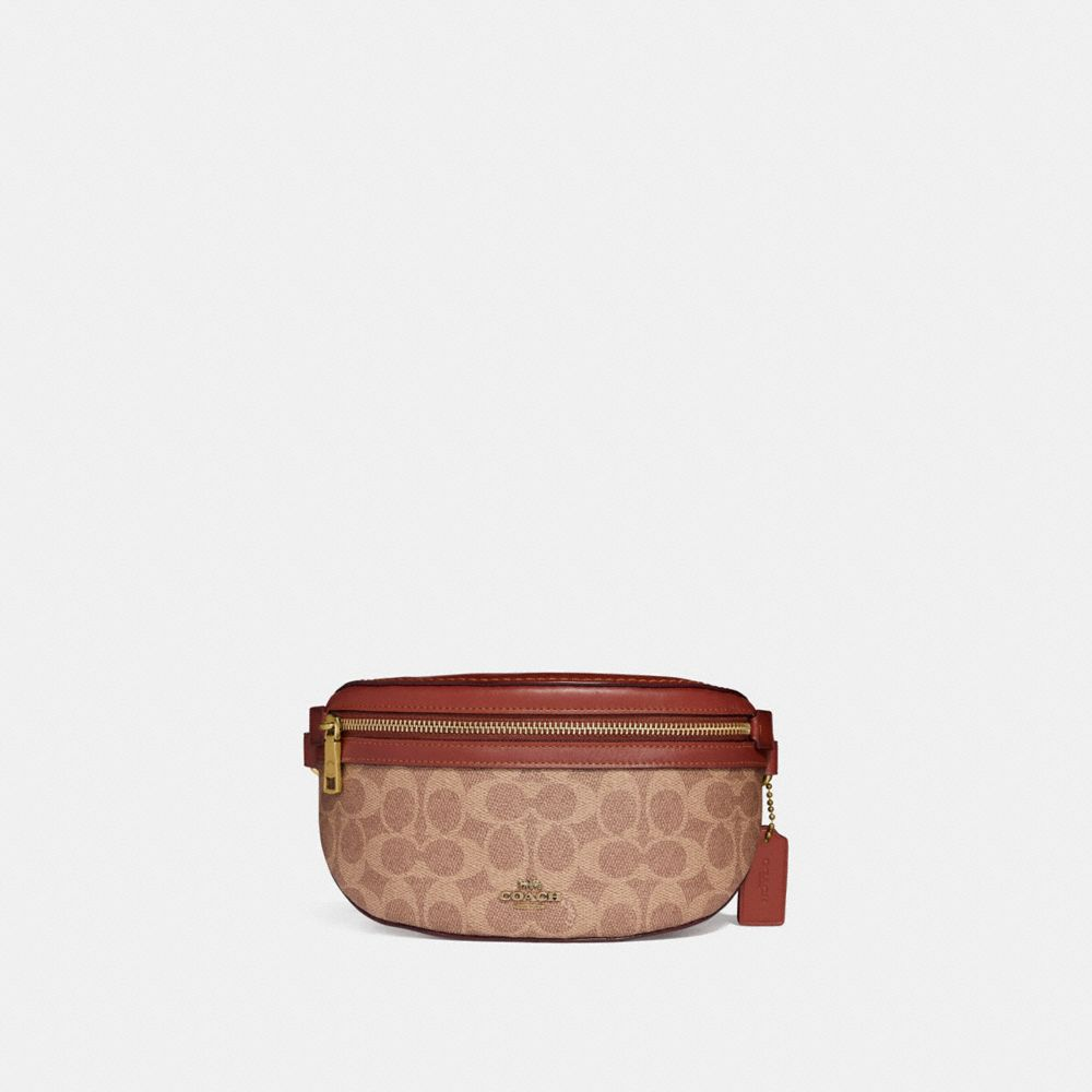 Coach Belt Bag in Signature Canvas