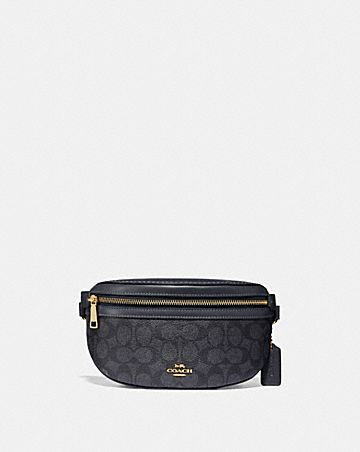 e3e7a75fb593 BELT BAG IN SIGNATURE CANVAS ...