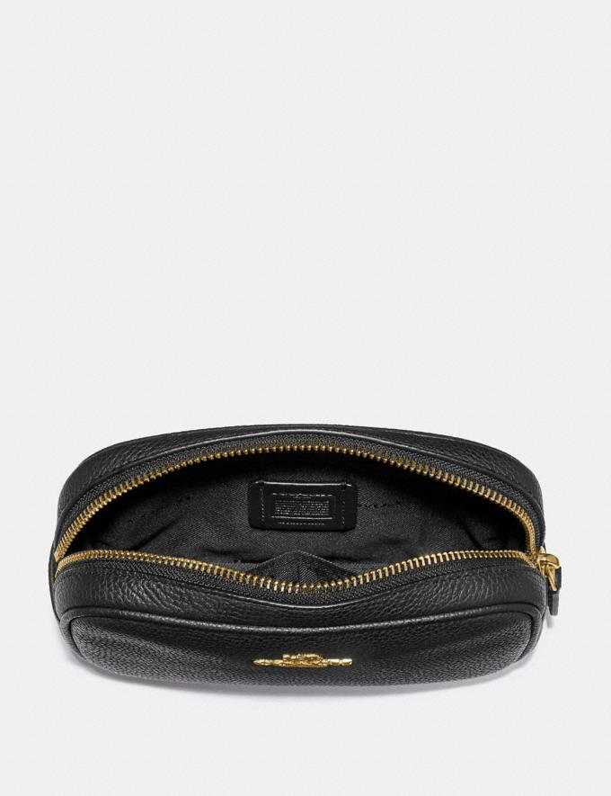 Coach Belt Bag Black/Gold Women Bags Belt Bags Alternate View 2