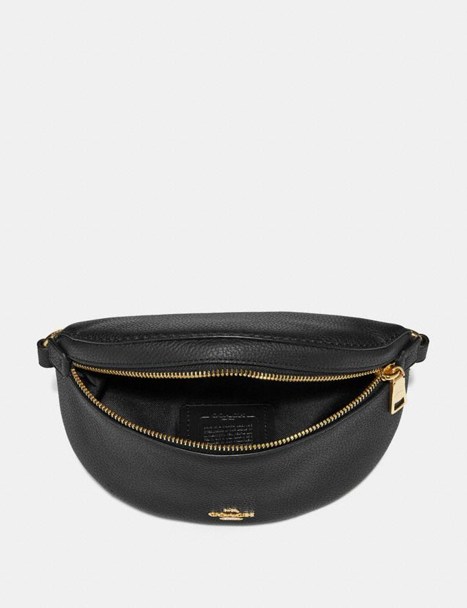 Coach Belt Bag Black/Gold Gifts For Her Bestsellers Alternate View 2