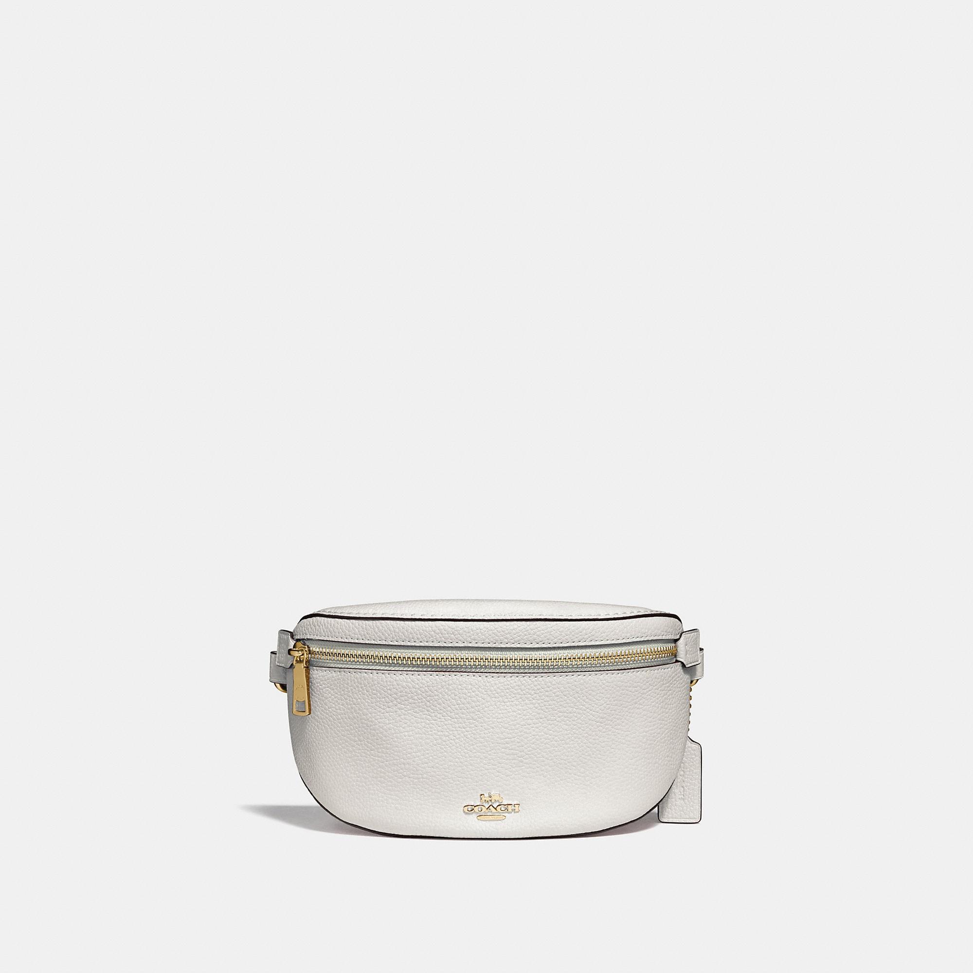 6a863ea22 Coach Belt Bag In Chalk/Gold | ModeSens