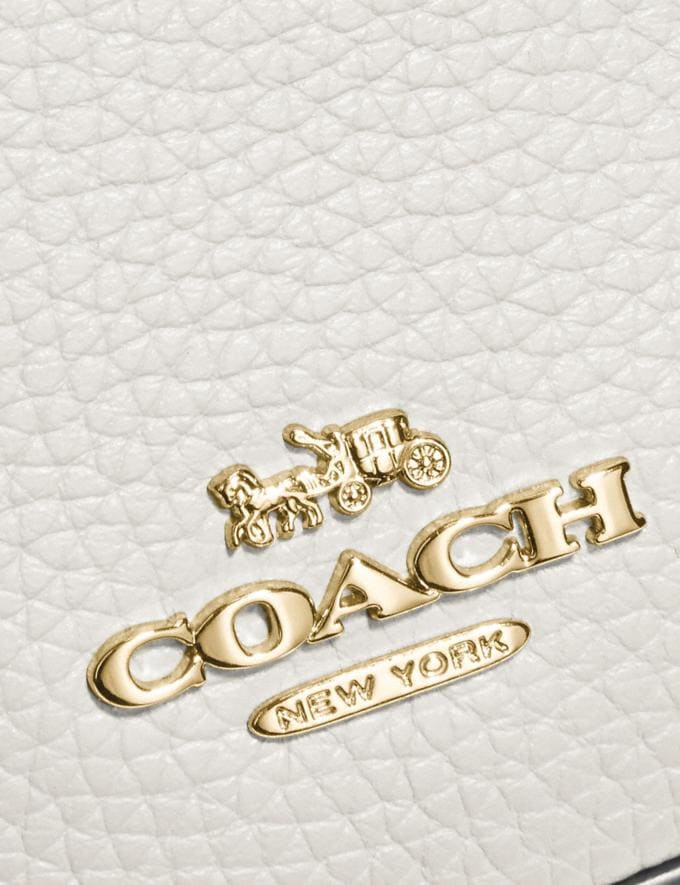 Coach Belt Bag Chalk/Gold Gifts For Her Alternate View 4