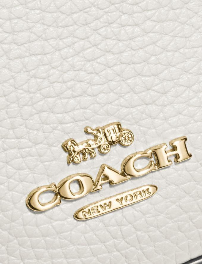 Coach Belt Bag Chalk/Gold Women Handbags Belt Bags Alternate View 4