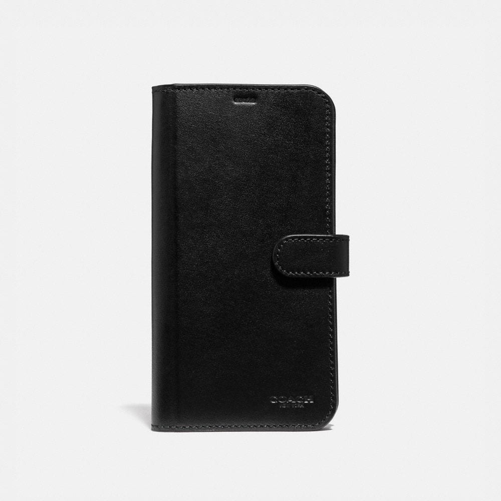 iphone xs max folio in signature leather