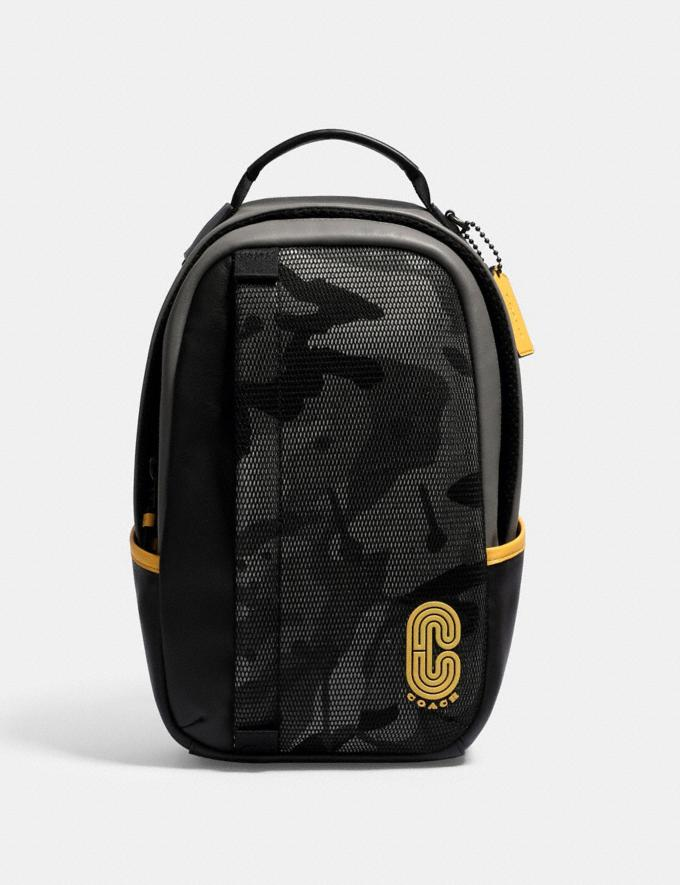 Coach Edge Pack With Camo Print Qb/Black Multi