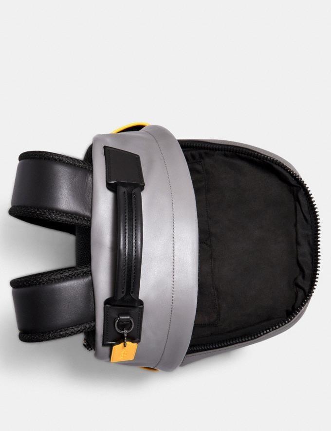 Coach Edge Backpack With Camo Print Qb/Black Multi Men Alternate View 1