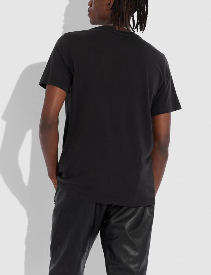 """Coach Skyline """"Big Apple Camp""""-T-Shirt Schwarz Herren Kleidung Oberteile & Hosen Alternative Ansicht 2"""