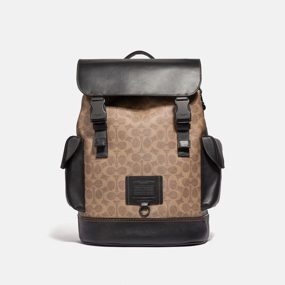 Coach Rivington Backpack in Signature Canvas