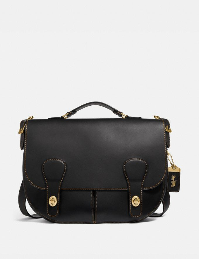 Coach Musette Bag Black/Brass Men Bags Messenger & Crossbody