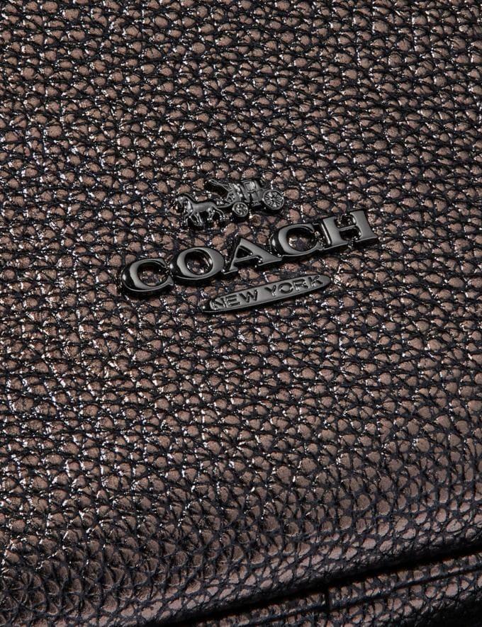 Coach Sutton Hobo Metallic-Graphit/Blaugrau Individuell gestalten Für sie Taschen Alternative Ansicht 4