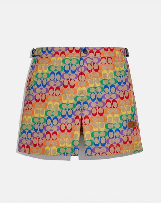 SHORT DE BAIN ARC-EN-CIEL EXCLUSIF