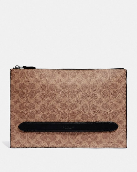 POCHETTE MANHATTAN EN TOILE EXCLUSIVE