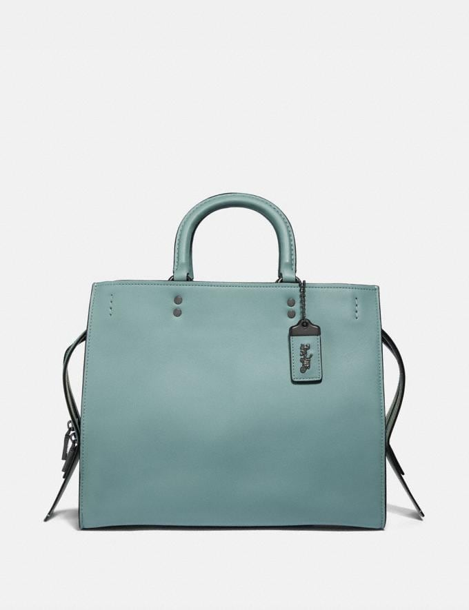 Coach Rogue With Signature Chain Sage/Pewter Personalise Personalise It Monogram For Her