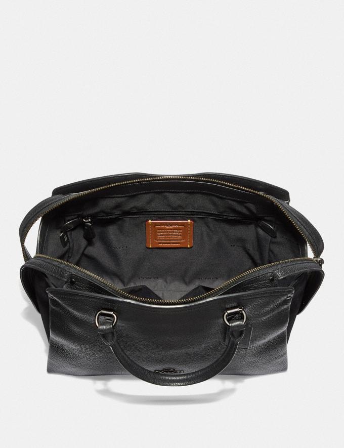 Coach Bolso Satchel Coach Drew Negro/Bronce De CaÑóN Mujer Bolsos Bolsos satchel y otros bolsos Vistas alternativas 3