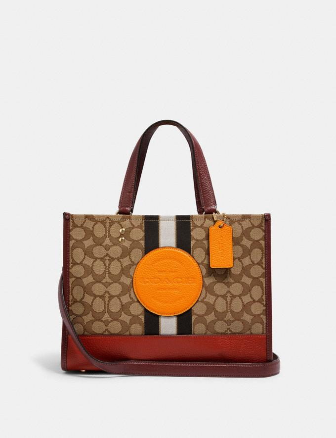 Coach Dempsey Carryall in Signature Jacquard With Stripe and Coach Patch Im/Khaki Sunbeam Multi DEFAULT_CATEGORY