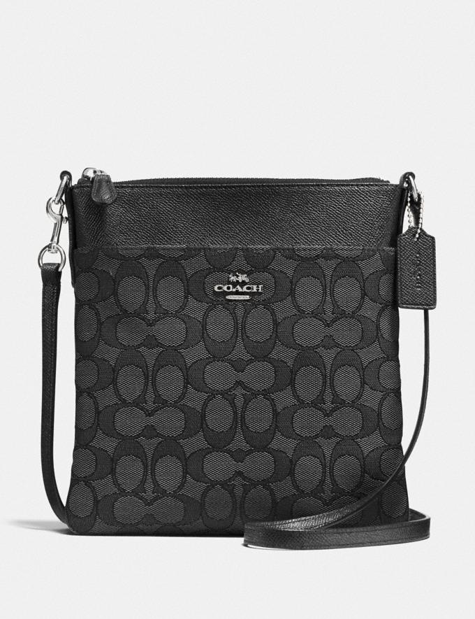28c0d56d Kitt Messenger Crossbody In Signature Jacquard