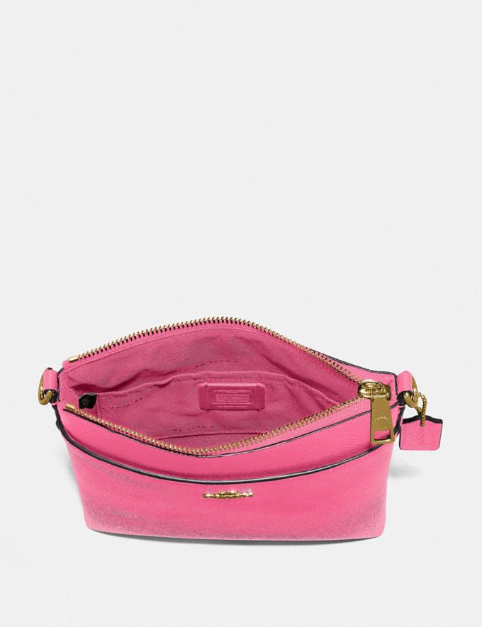 Coach Kitt Messenger Crossbody Brass/Confetti Pink New Featured Women New Top Picks Alternate View 2
