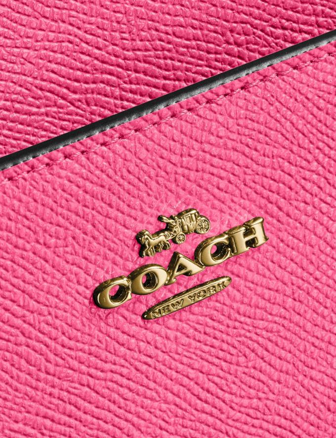 Coach Kitt Messenger Crossbody Brass/Confetti Pink Women Handbags Alternate View 4