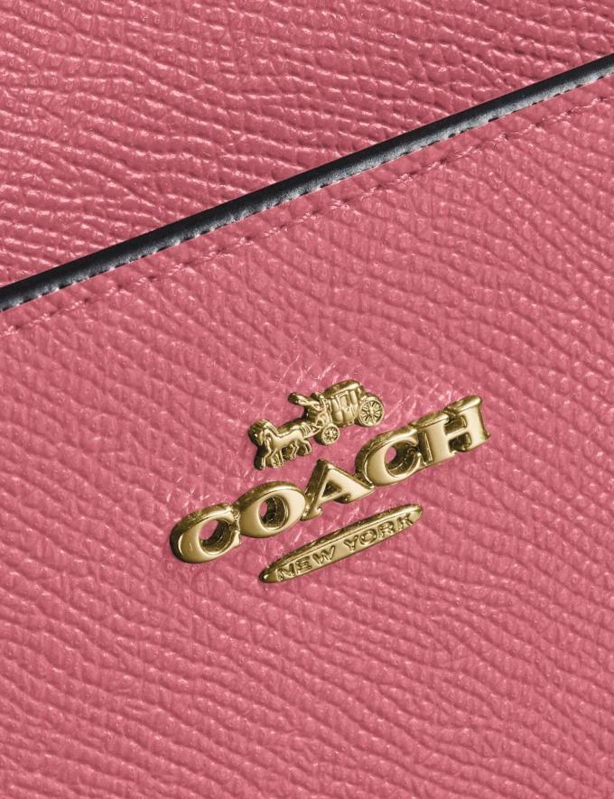 Coach Kitt Messenger Crossbody Brass/Rouge New Women's New Arrivals Small Leather Goods Alternate View 3