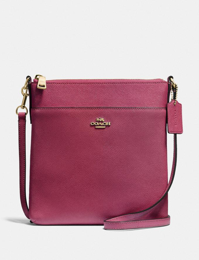 Coach Messenger Crossbody Gold/Dusty Pink Gifts Featured