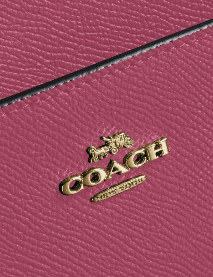 Coach Messenger Crossbody Gold/Dusty Pink Gifts Featured Alternate View 3