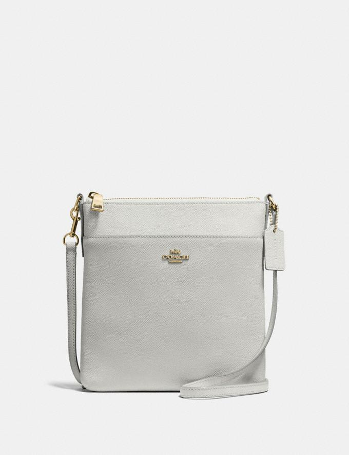 Coach Kitt Messenger Crossbody Gd/Chalk Women Bags Crossbody Bags