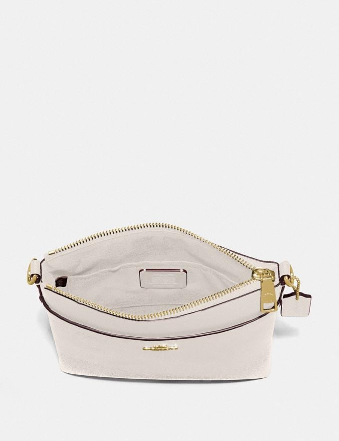 Coach Kitt Messenger Crossbody Chalk/Gold SALE March Event Women's Alternate View 1